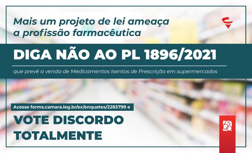 PL é mais uma ameaça à profissão farmacêutica